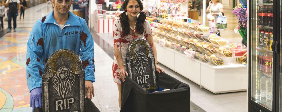 Halloween centro comercial Plaza Éboli Pinto Madrid